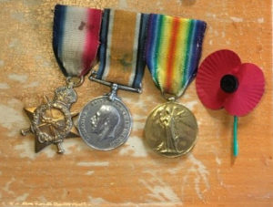 Jims' Grandfather's Medals